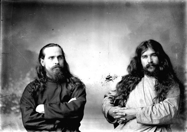 Ρώσοι μοναχοί. Αρχ�ς 20ού αιώνα.
