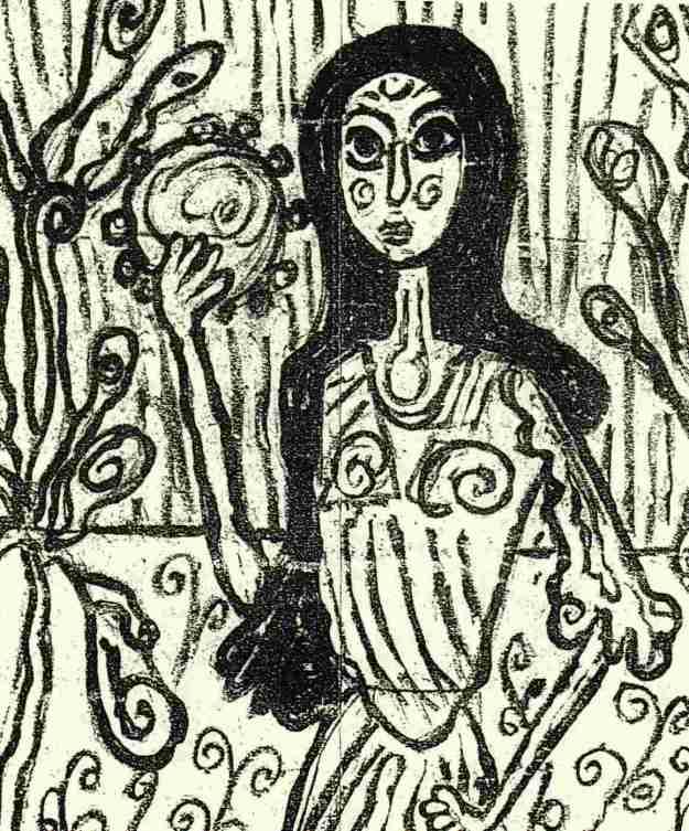 Όλες οι ζωγραφι�ς είναι του Nικόδημου και κοσμούν την «Aναδάσωση μνήμης».