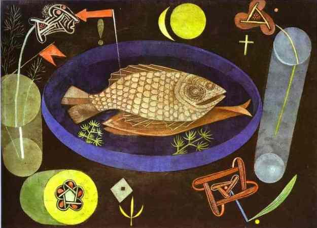Paul Klee, Γύρω από το ψάρι, 1926.