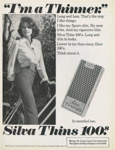 Τα τσιγάρα slim συσχετίζονται με το πρότυπο για λεπτό γυναικείο κορμί.