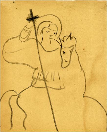 Νίκος Βέλμος, Ἅγιος Γεώργιος (ca. 1927)