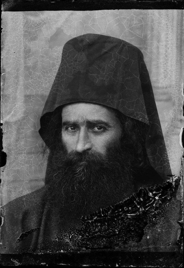 Πορτραίτο Αθωνίτη μοναχού.