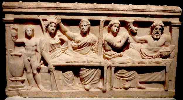 Αναθηματικό ανάγλυφο από την Ελευσίνα (4ος αιώνας π.Χ., Εθνικό Αρχαιολογικό Μουσείο)