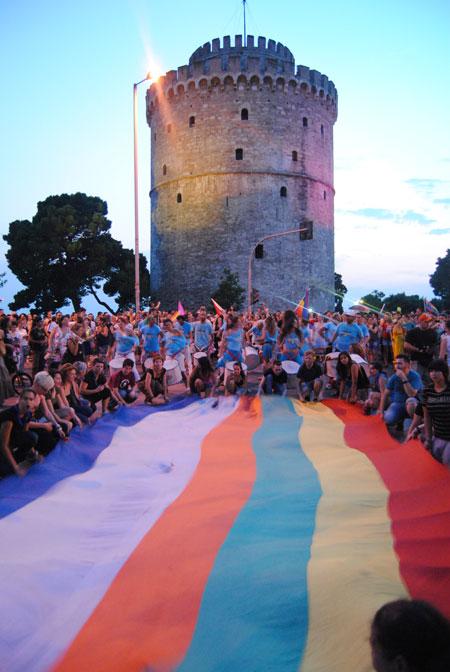 Gay pride, Θεσσαλονίκη 2012